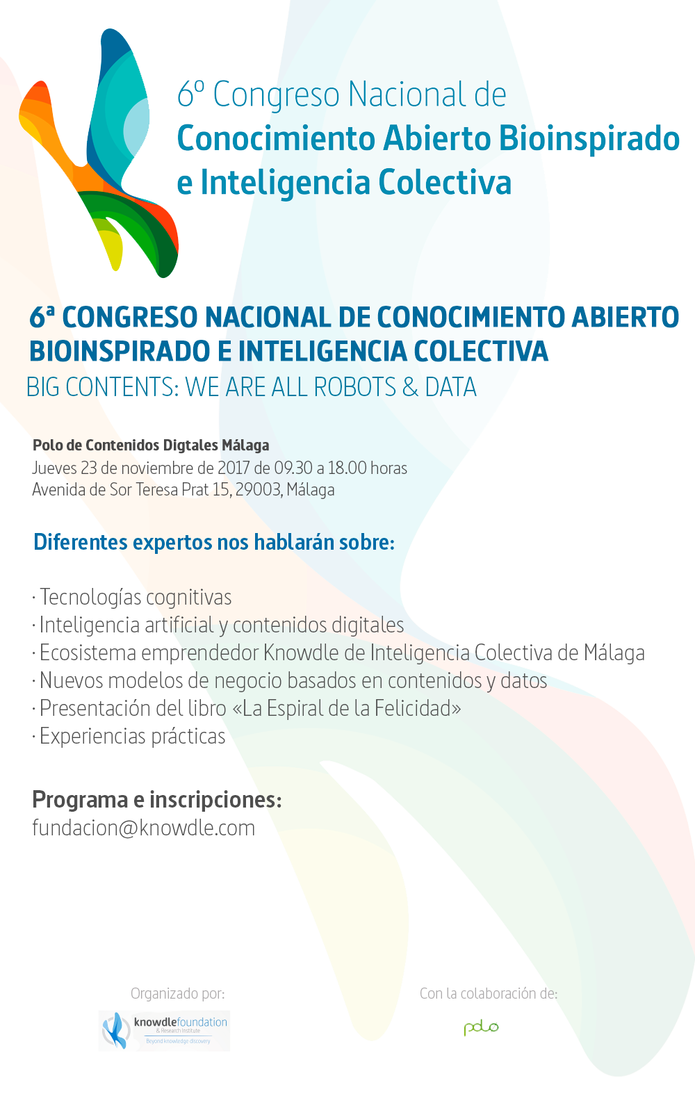 Cartel Congreso knowdle