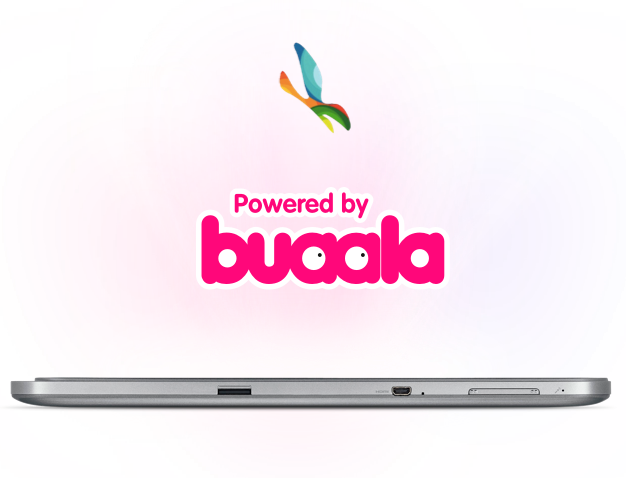 POWERED BY BUAALA